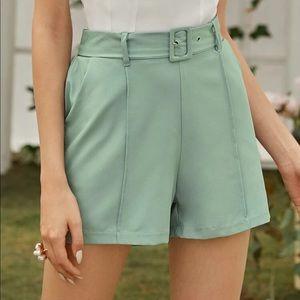 SHEIN Other - SHEIN - Blazer & Belt Short Set